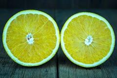 Gesneden Sinaasappel Royalty-vrije Stock Fotografie