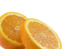 Gesneden Sinaasappel Royalty-vrije Stock Afbeelding