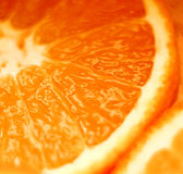 Gesneden sinaasappel Stock Afbeelding