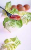 Gesneden vlees stock fotografie
