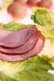 Gesneden vlees stock foto