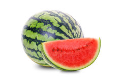 Gesneden watermeloen Royalty-vrije Stock Afbeeldingen