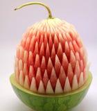 Gesneden watermeloen Stock Afbeeldingen