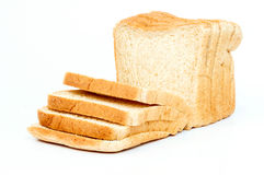 Gesneden wit brood Royalty-vrije Stock Afbeelding