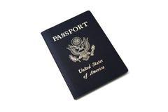 Geïsoleerdd Paspoort Stock Afbeelding