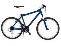 Geïsoleerde de fiets van de berg Royalty-vrije Stock Afbeelding