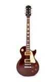 Geïsoleerde de gitaar van de rots Stock Afbeelding