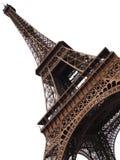 Geïsoleerde de toren van Eiffel Stock Afbeelding
