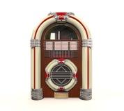 Geïsoleerde juke-boxradio Royalty-vrije Stock Afbeeldingen