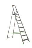 Geïsoleerde ladder Royalty-vrije Stock Foto