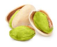 Geïsoleerde pistachenoten Royalty-vrije Stock Afbeelding