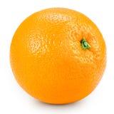 Geïsoleerde sinaasappel Stock Foto