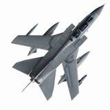 Geïsoleerde straalvechter Stock Afbeelding