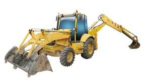 Geïsoleerde Tractor Royalty-vrije Stock Afbeelding
