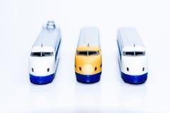 Geïsoleerde ultrasnelle trein Stock Foto's