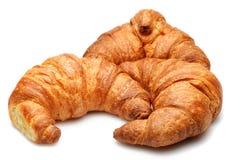 Geïsoleerded Croissanten Royalty-vrije Stock Fotografie