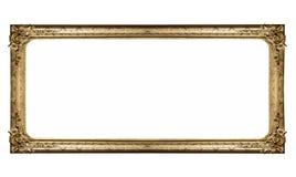 Geïsoleerded museumomlijsting Royalty-vrije Stock Foto's