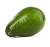 Geïsoleerdee avocado's Stock Foto