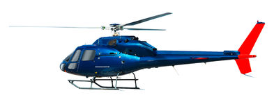 Geïsoleerdee helikopter Royalty-vrije Stock Afbeeldingen