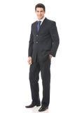 Geïsoleerdee zakenman, Stock Afbeeldingen