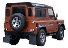 Geïsoleerdeg SUV Royalty-vrije Stock Afbeeldingen