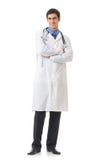 Geïsoleerdej arts, Stock Afbeelding