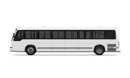 Geïsoleerden de bus van de stad Stock Afbeelding