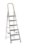 Geïsoleerdeo ladder Stock Foto