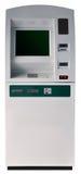 Geïsoleerder de machine van ATM Stock Foto's