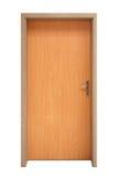 Geïsoleerder deur Stock Fotografie
