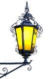 Geïsoleerdeu uitstekende lantaarn. Stock Afbeeldingen
