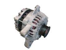 Geïsoleerdev alternator/generator Stock Foto's