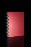 Geïsoleerdg notaboek Stock Fotografie