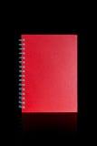 Geïsoleerdg notaboek Royalty-vrije Stock Afbeelding