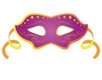 Geïsoleerds Carnaval masker Royalty-vrije Stock Afbeeldingen