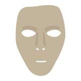 Geïsoleerds Carnaval masker Stock Afbeelding