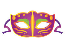 Geïsoleerds Carnaval masker Stock Foto's