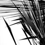 Gespannen, ruw geometrisch patroon Onregelmatige, chaotische willekeurige vormen vector illustratie