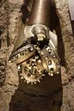 Gespecialiseerd tri-cone boorbeetje voor olie en gasexploratie Royalty-vrije Stock Fotografie
