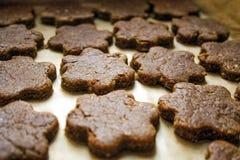 Gespelde koekjes volgens het recept van Heilige Hildegard stock foto