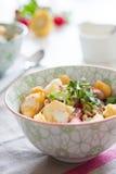 Gespelde salade Stock Foto