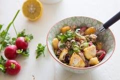 Gespelde salade Royalty-vrije Stock Foto's