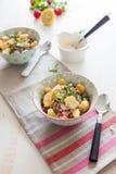 Gespelde salade Royalty-vrije Stock Afbeelding
