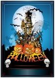 Gespenstisch von Halloween Lizenzfreie Stockbilder