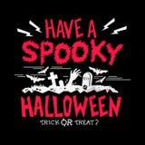 Gespenstische Halloween-Partei vektor abbildung