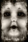 Gespenstische Puppe stockbilder