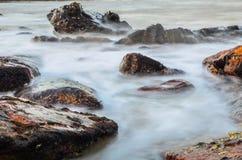 Gespenstische Wellen Stockbild