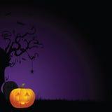 Gespenstischer Halloween-Hintergrund Lizenzfreie Stockfotos