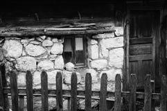 Gespenstisches altes Häuschen Lizenzfreie Stockfotografie