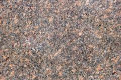 Gespikkeld Beige en Zwart Graniet Stock Foto